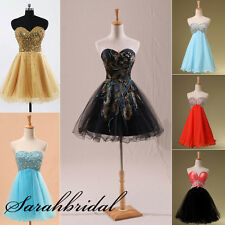 2014 Lovely Summer Mini Homecoming Short Cocktail Dresses Prom Ball Party Gown