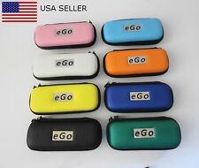 NEW! EGO/VGO E-CIGARETTE & E-LIQUID ATOMIZER ZIPPER CASE W/MESH POCKETS