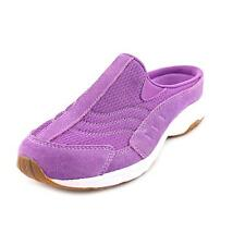 Easy Spirit Traveltime Womens Walking Suede Clogs Shoes