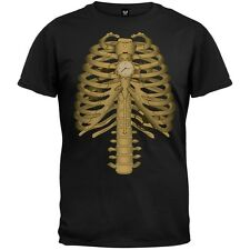 Steampunk Skeleton Costume Men's T-Shirt - Black
