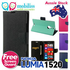 Korean Mercury PU Leather TPU Inner Wallet Case Cover for Nokia Lumia 1520