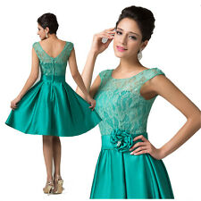 CHEAP Sweety Short Homecoming Dress Vintage Lace Masquerade Cocktail Party Dress