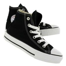 New! Kids Chuck Taylor Converse Hi Top in Black Youth All Star Shoes/Sneakers