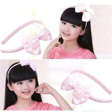 Cute Girl Baby Lady Bow Tie Hair band Party Wedding Photos Hair Accessories Gift