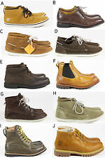 MENS TIMBERLAND CASUAL LEATHER LACE UP CHLESEA ANKLE BOOTS SHOES SIZE UK 8.5