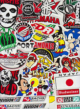 LOT RANDOM STICKERS DECALS All-weather in outdoor grade vinyl car truck bumper
