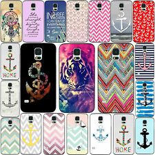 Hot Cool Painted Design Rigid Plastic Case Cover Skins for Samsung S3 S4 S5
