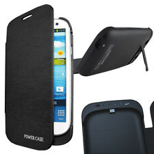 Portable Battery Power Bank Charger Case Flip Cover for Samsung Galaxy S3 I9300