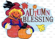 Autumn Blessing ~ Frosting Sheet Cake Topper ~ Edible Image ~ D2224