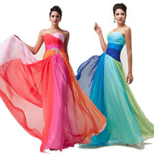 2015 Sexy Formal Homecoming Evening Prom Bridesmaid Dresses Gown Prom Dress PLUS