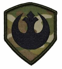 "Rebel Alliance Star Wars 3x2.5"" Shield Police Military Morale Funny Velcro Patch"