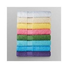 Set of 4 Large Bath Towels 100% Cotton 8 Colors Shower Bathroom FREE SHIPPING