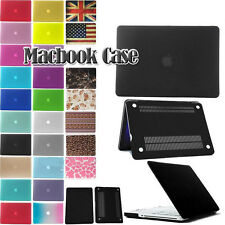 "Rubberized Hard Shell Cover Case For Apple Macbook Air/Pro/Retina 11"" 13"" 15"""