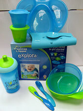 TOMMEE TIPPEE    NEW IN EXPLORA COMPLETE TODDLER  KIT  BOYS/GIRLS  4M+ BPA