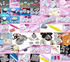 Xmas Fondant Cake Cookies Decorating Sugarcraft Cutter Modelling Tools Mould #F