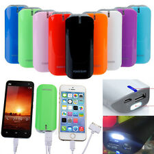 3in1 5600mAh LED Power Bank Carica Batteria Esterna USB X iPhone SAMSUNG LG HTC