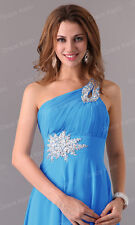 Long Chiffon Evening Wedding Formal Party Banquet Gown Prom Bridesmaid Dresses