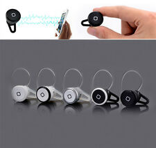 Smallest Wireless Bluetooth Mini Headset Earphone In-Ear Headphone Mic Earpiece