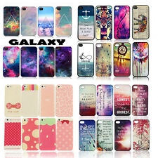 Back For Apple iphone Case Cover Snap On Printed Slim Skin Hard Colorful Cute