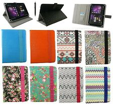 "Universal Wallet Case Cover Stand Folio for 9.7"" & 10 inchTablet with Stylus"
