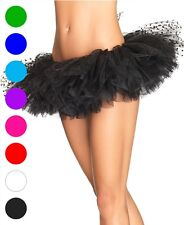 Tulle Tutu With Mesh Flocked Polka Dot Top Layer - Leg Avenue A1900