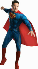 Man Of Steel Deluxe Adult Muscle Chest Superman Costume