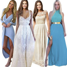 Cocktail Beach Party Formal Evening Ball Prom Dresses Wedding Bridesmaid Gown