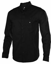 DC Shoes Men's Anvil Long Sleeve Shirt-Black