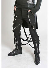 Tripp Nyc Bum Flap Bondage Pants Skater Punk Rocker Biker Tattoo Gothic 30-36