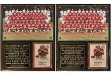 San Francisco 49ers 1994 Super Bowl XXIX Champions Photo Card Plaque