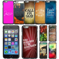 "Cover for Apple iPhone 6 Plus 5.5"" inch Bible Christian God Faith Phone Case"