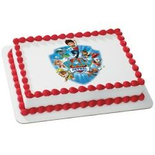 PAW PATROL - YELP FOR HELP EDIBLE IMAGE CAKE TOPPER DECORATION! FREE SHIPPING!