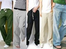 BoysTrousers Linen Pants Long Blouse Bucket Big Straight Casual Pants  Markdown