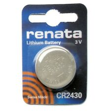 Renata CR 2430 3V Lithium Coin Cell Watch Battery DL 2430, ECR 2430, BR 2430