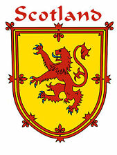 Shield of Scotland T-Shirt (Coat of Arms for over 1000 Scottish names)