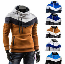 UK Men's Casual Jackets Sweatshirt Mens Hoody Jacket Coat Hoodie TOP Size M-XL