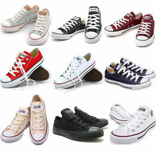 MEN'S WOMEN'S Chucks ALL STAR LOW Schuhe Canvas shoes Low to help Multicolor