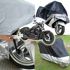 Waterproof Motorcycle UV Protective Scooter Rain Breathable Street Bike Cover