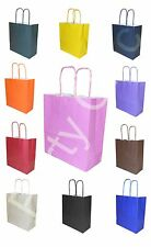 LUXURY KRAFT PAPER GIFT PARTY BAGS WITH HANDLES 18x8x20cm BOYS GIRLS WEDDING HEN