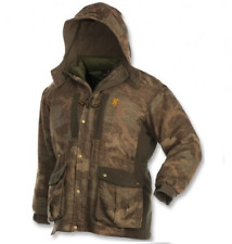Browning Full Curl Wool Parka 3-in-1 Size Small - Cold Weather Hunting