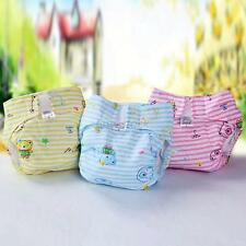 New Printed Cloth Diaper Nappy Newborn Baby Infant 3Size Adjustable Reusable F68