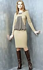 MADE IN EUROPE ELEGANT WEAR TO WORK COCKTAIL DRESS S M L XL