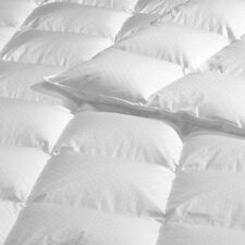 Canadian Hutterite White Goose Down Duvet 500 Thread Count