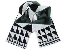 O'Neill Shawl Scarf Knitted Winter Scarf Flare grey patterned