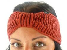 O'Neill Headband Auricle Red Crochet Pattern Ear Warmer