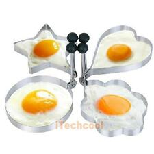 Kitchen Stainless Steel Pancake Mould Mold Ring Cooking Fried Egg Shaper #T1K