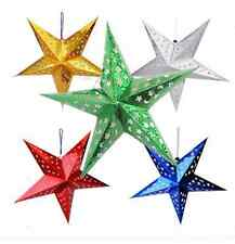 3D Laser Star Paper Lantern Lampshade Pub Home Wedding XMAS party Hanging Decor