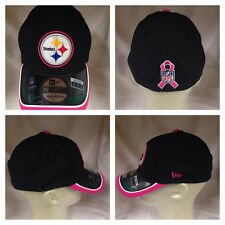 Pittsburgh Steelers 2014 New Era 39Thirty Breast Cancer Player Onfield Cap Hat