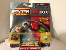 Angry Birds Star Wars Series 2 Telepods Rebels vs. Villains Multi 6 Pack New