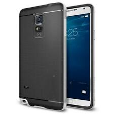 Luxury Hybrid Hard Bumper Soft Rubber Case Cover Skin For Samsung GALAXY Note 4